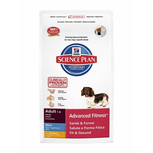Hills Canine Adult Advanced Fitness Mini mit Huhn 7kg