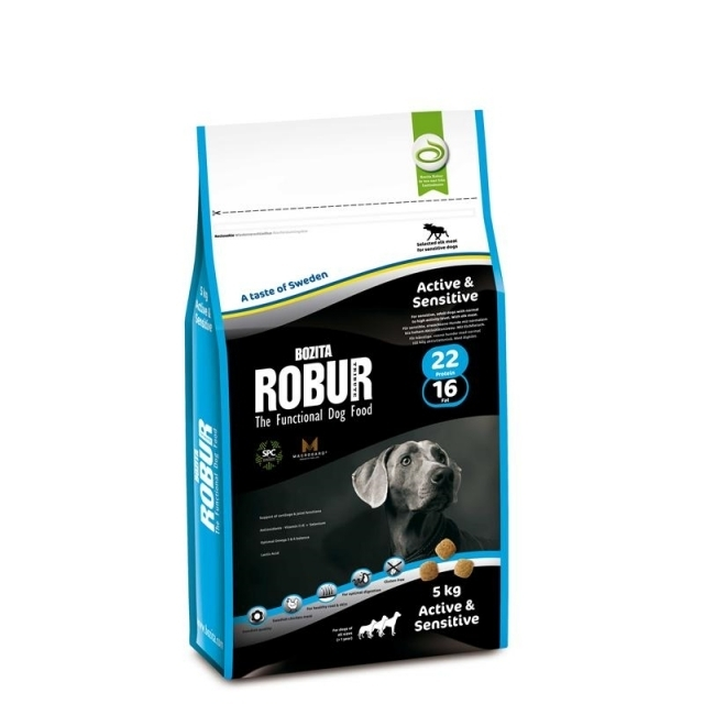 Bozita Robur Active & Sensitive 5kg