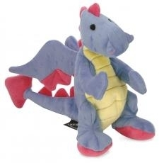 Go Dog Dragon Periwinkle with Chew Guard Large