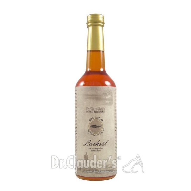 Dr. Clauders Lachsöl traditionell 500 ml